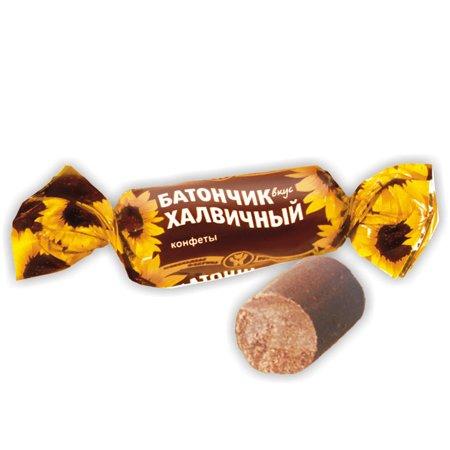 Конфеты Батончик вкус халвичный 200 г.
