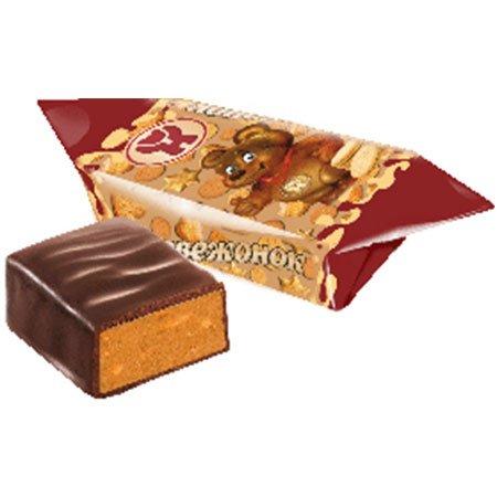 Конфеты «Медвежонок с печеньем» фасованные ШФН 250 гр.