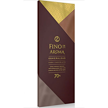 Шоколад O`Zera горький Esmeraldas 70% 90г.