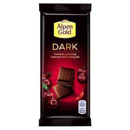 Шоколад Альпен Голд Dark темный вишня/перец чили 80г.