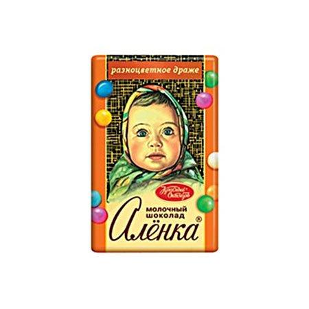 "Шоколад Алёнка драже ""сладкая мозаика"", 15гр."