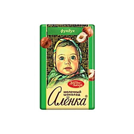 Шоколад Алёнка с фундуком 15гр.