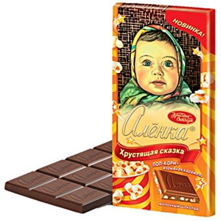 Шоколад Алёнка хрустящая сказка 100гр.