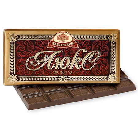Шоколад Люкс тёмный 100 гр.