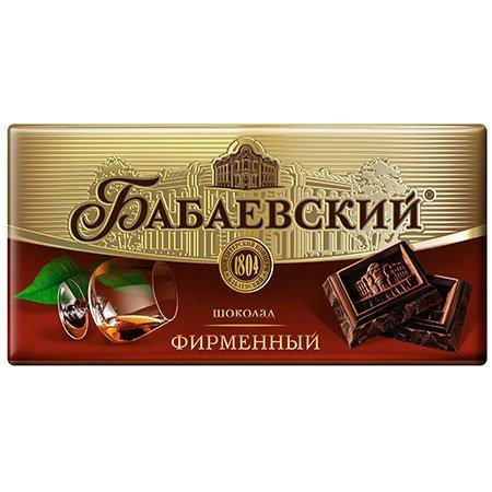 Шоколад Бабаевский фирменный 100г
