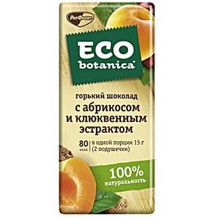 "Шоколад ""Рот Фронт"" Eco Botanica абрикос клюква 85г"