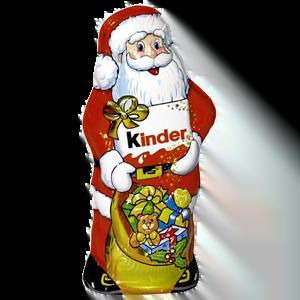 Шоколад фигурный Киндер Дед Мороз, 55гр.