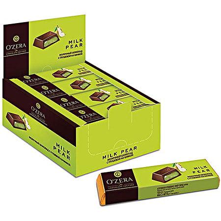 Шоколад O`Zera молочный Milk Pear, 50г