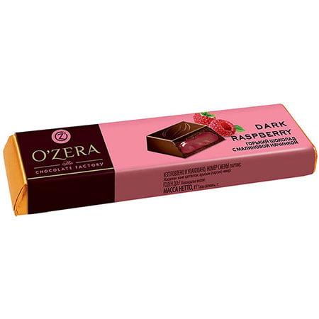 Шоколад O`Zera горький Dark & Raspberry, 50 г
