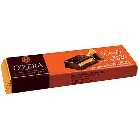 Шоколад O`Zera горький Double Dark Truffle & Orange, 47г