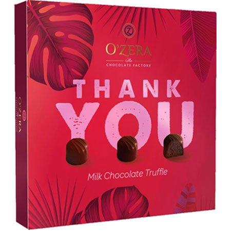 Конфеты O`Zera Thank You трюфель в молочном шоколаде, 140г
