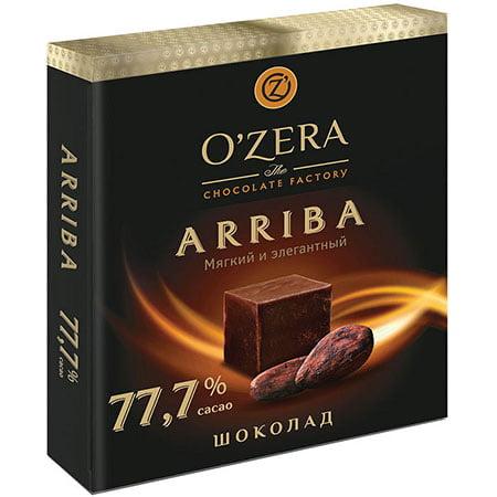 Шоколад O`Zera тёмный Arriba 77,7%, 90 г