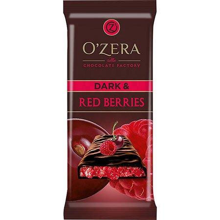 Шоколад O`Zera горький Dark & Red berries, 90 г