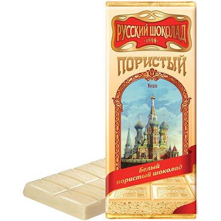 Шоколад Русский белый пористый 90г