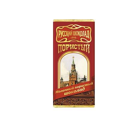 Шоколад русский молочный пористый 22,5г.