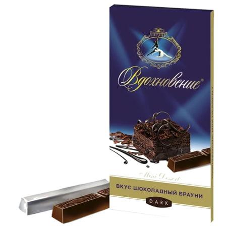Шоколад Вдохновение Mini Dessert Шоколадный брауни 100г.