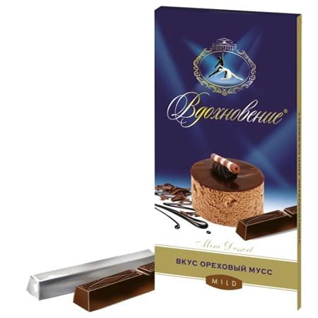 Шоколад Вдохновение Mini Dessert Ореховый мусс 100г.