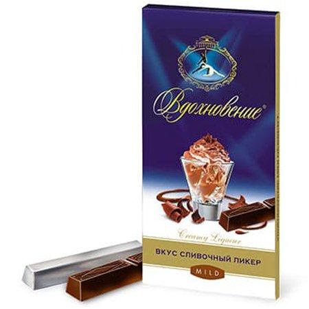 Шоколад Вдохновение Creamy Ligueur сливочный ликер 100 гр