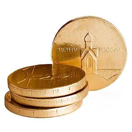 Шоколадная фигура «Сибирский сувенир» Медаль 0,007гр/1шт