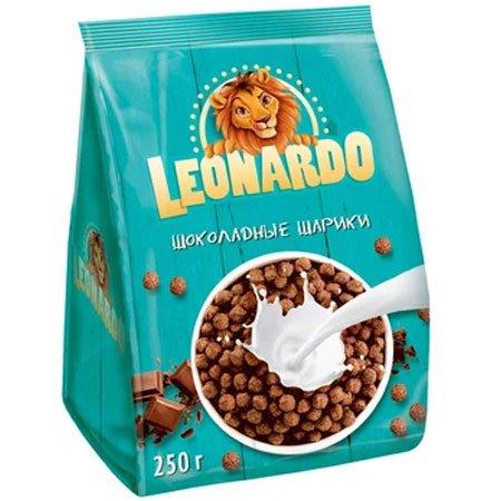 Шоколадные шарики Леонардо, 250гр/16шт