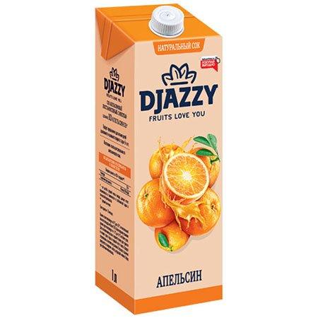 Сок Djazzy апельсиновый с мякотью, 200 мл.