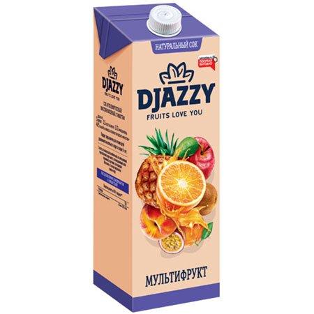 Сок Djazzy мультифруктовый с мякотью, 200 мл.