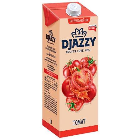 Сок Djazzy томатный с мякотью, 200 мл.