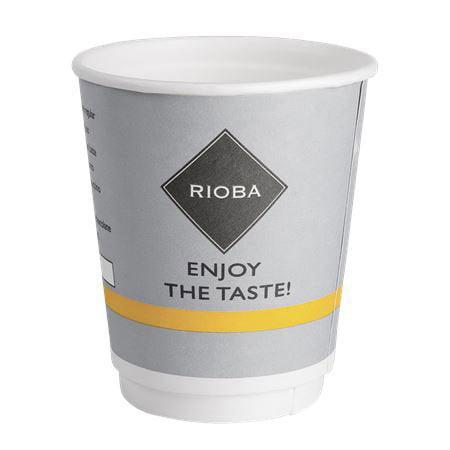 Стакан бумажный Rioba 2-х слойный 200мл*26шт