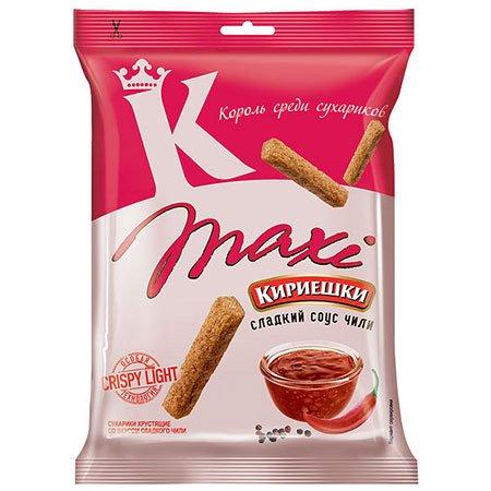Сухарики «Кириешки Maxi» Чили 60г