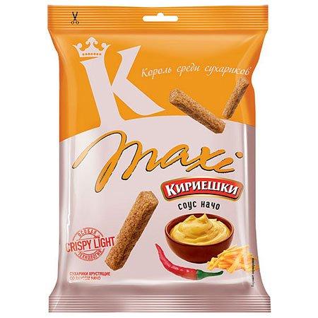 Сухарики «Кириешки Maxi» Соус начо 60г