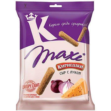Сухарики «Кириешки Maxi» Сыр/Лук 60г