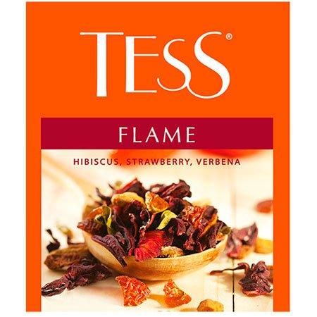 Чай Тесс (Tess) Флейм травяной 100 пак