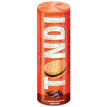 Печенье сэндвич Tondi с шоколадным вкусом, 182 гр.