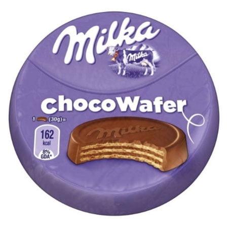 Вафли Милка с начинкой какао/шоколад, Чехия, 30г.