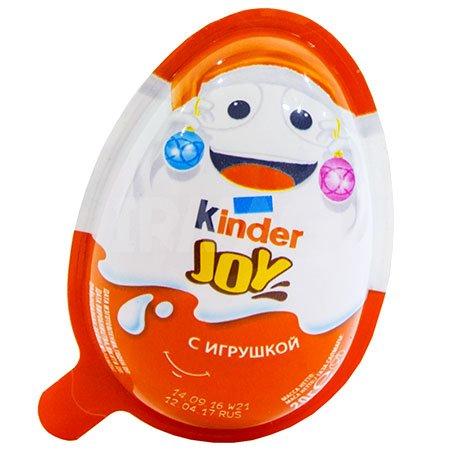 Киндер сюрприз Яйцо шоколадное Джой Новый Год 20г Т-24