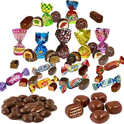 Конфеты весовые