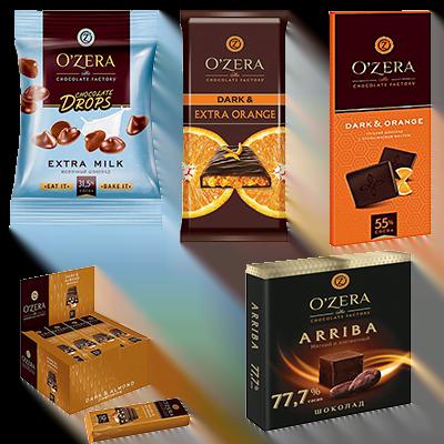 Шоколад O`Zera