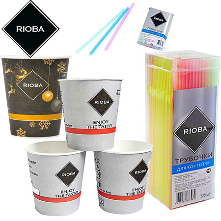 Rioba (Риоба) одноразовая посуда