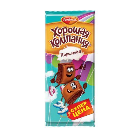 шоколад хорошая компания пористый