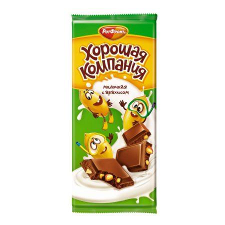 шоколад хорошая компания с арахисом