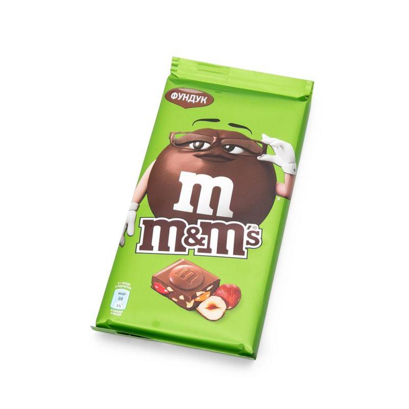 Шоколад молочный М&Мs (Эм-энд-Эмс) с фундуком