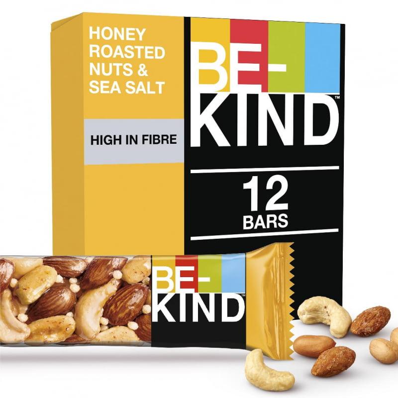 Батончик Би-Кайнд (Be Kind) орехи/мёд/соль,