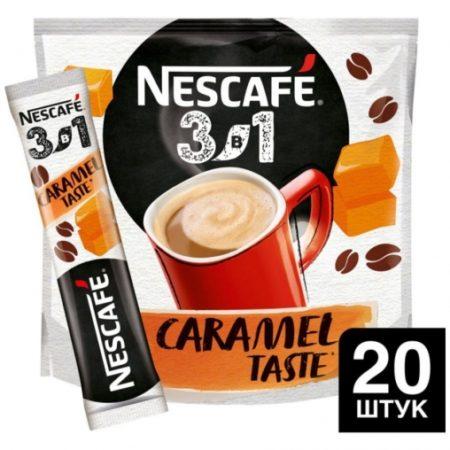 Кофе Нескафе Карамель 3 в 1