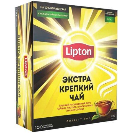 Чай Липтон Yellow Label Экстра Крепкий