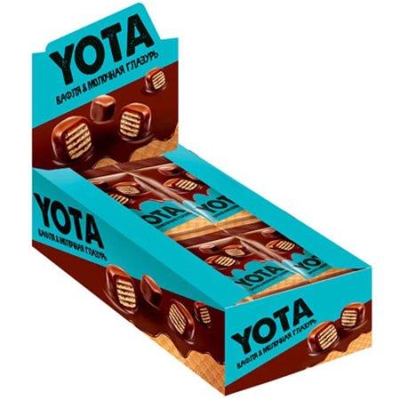 «Йота» Драже вафля в молочно-шоколадной глазури
