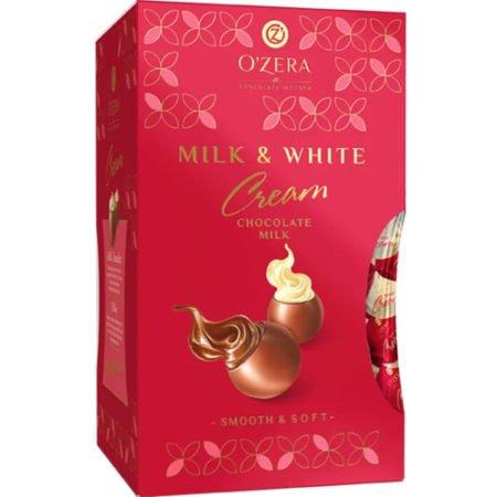 Конфеты O`Zera шоколадные Milk&White Cream