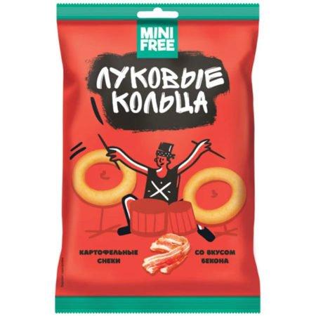 Луковые кольца «Mini Free» со вкусом бекона