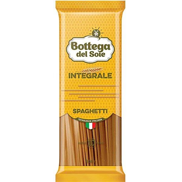 Макароны Спагетти цельнозерновые Bottega del Sole