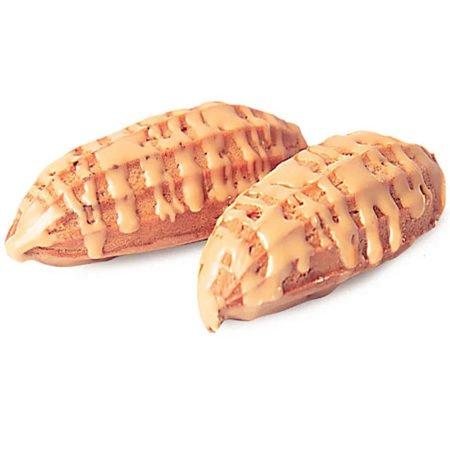Печенье-Заварнельки-в-карамельной-глазури