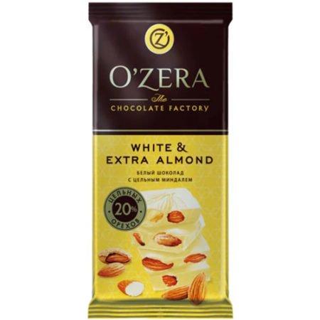 Шоколад-O`Zera-белый-White&Extra-Almond